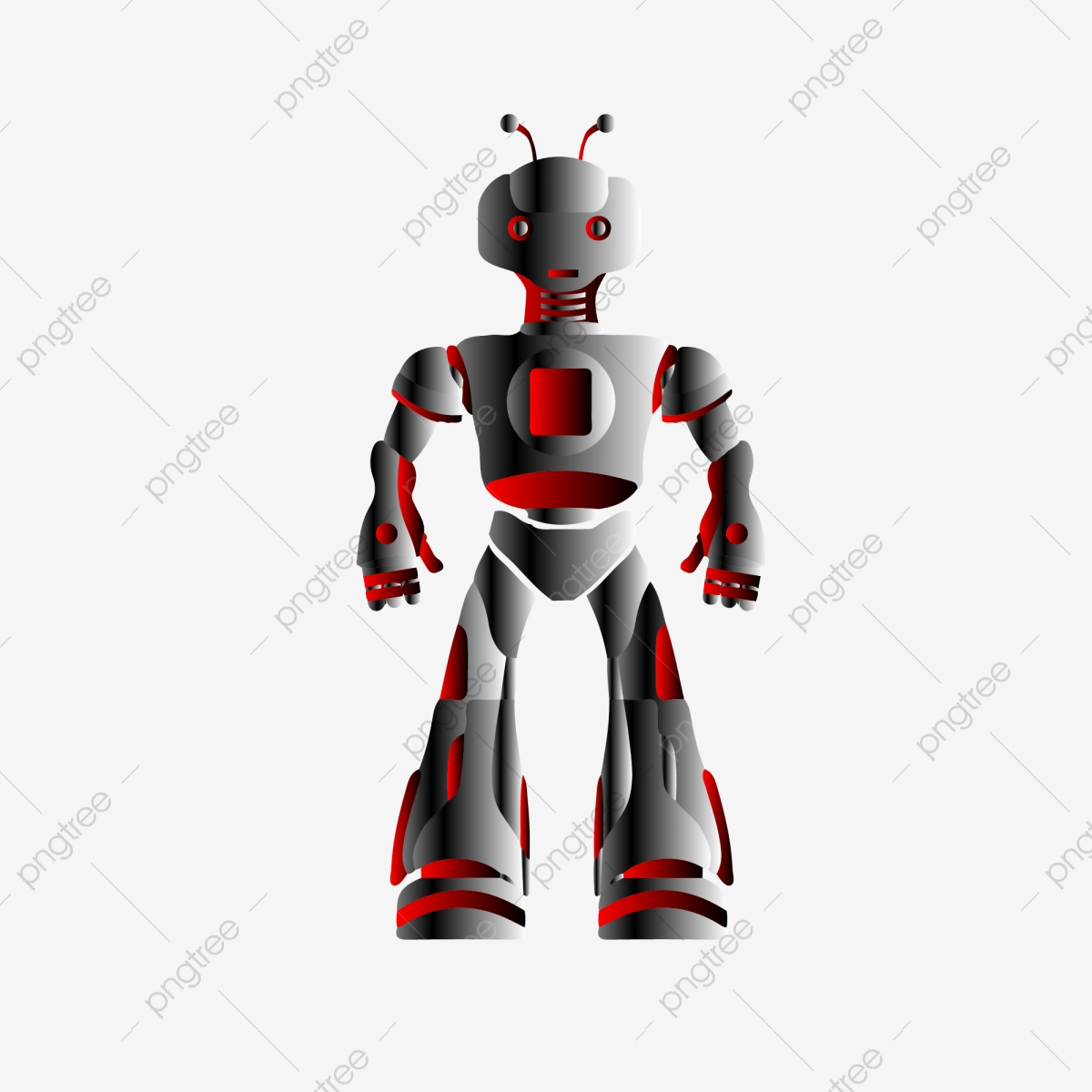 robot comercial modern