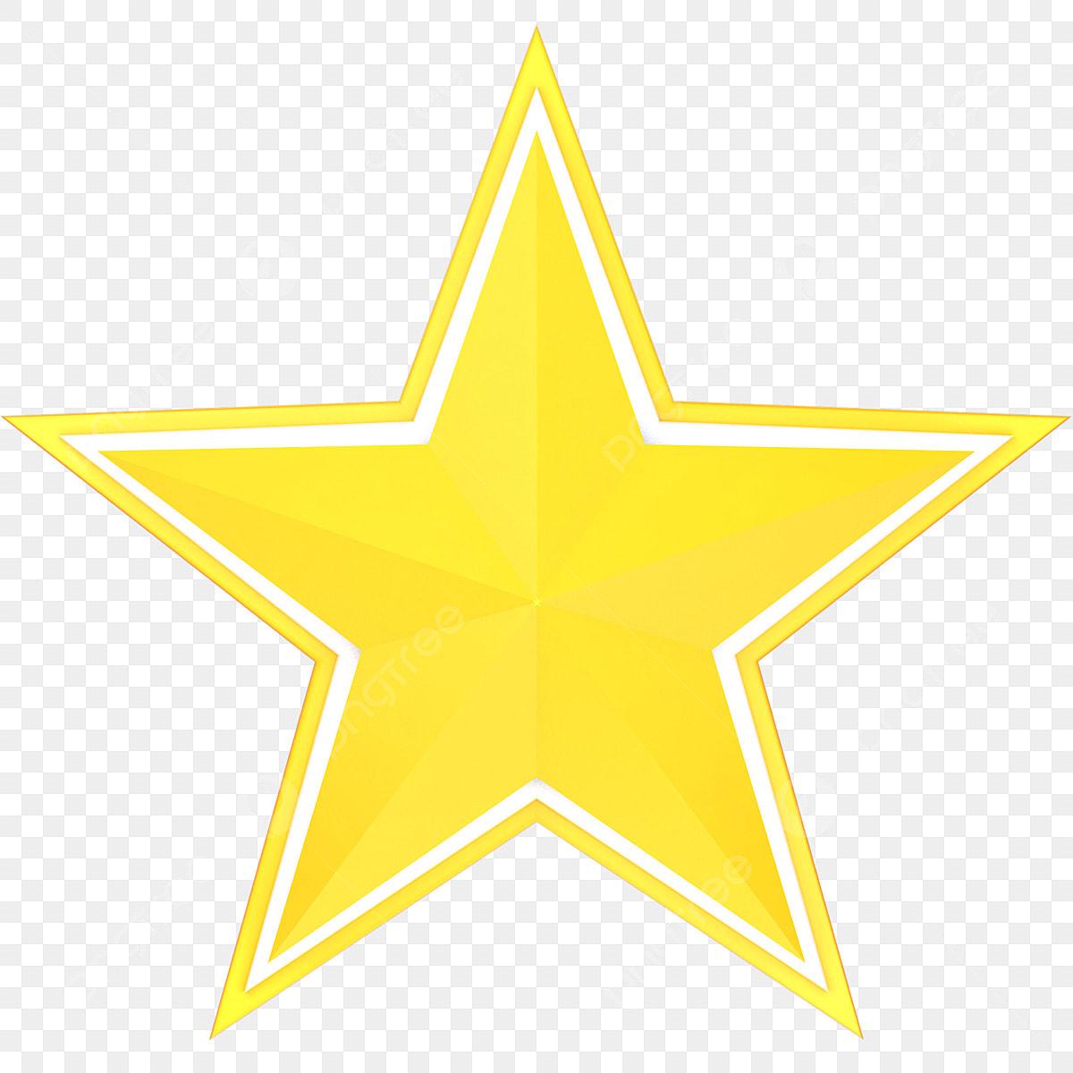 Extremement élément Tridimensionnel De Dessin Animé étoile à Cinq Branches LM-65