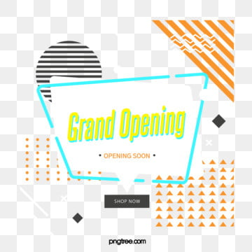 fresh geometric bubble label grand opening element, Triangle, Geometric, Circular PNG and PSD