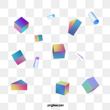 gradual stereo geometric elements, Element, Geometric, Color PNG and PSD