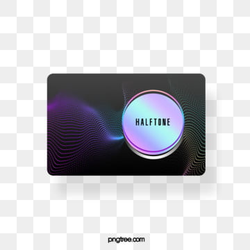 halftone color gradient rounded rectangular text box, Circular, Color, Label PNG and PSD