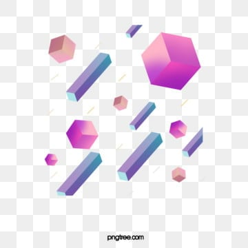 gradient elements of geometric graphics, Geometric, Graphic, Square PNG and PSD