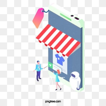 mobile information technology creative 25d business illustration, Two, 5d, Business PNG and PSD