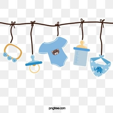 baby blue lovely clothing  bottle scarf  toy paper style hanging, Scarf, Feeding Bottle, Baby Blue PNG and PSD