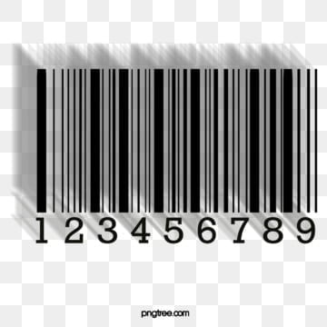 black and white digital creative bar code shadow stereo, Creative, Creative Barcode, Bar Code PNG and PSD