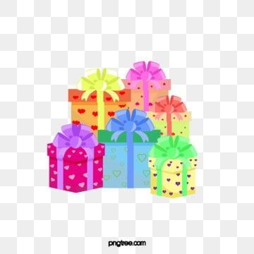 IL Colore dei Depositi di regalo di compleanno, Nastro, I Cartoni Animati, Laccumulo Di PNG e PSD
