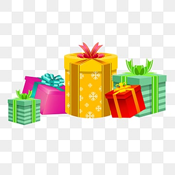 UN regalo Di Natale per la scatola di Colore, Il Nastro, Colore, La Scatola PNG e PSD