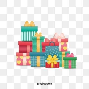 IL regalo di compleanno di Colore di accumulo, Laccumulo Di Una Scatola Di Colore, Un Regalo Di Compleanno, Regalo Di Compleanno PNG e PSD