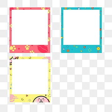 cute cartoon border photo paper, Cartoon, Lovely, Circular PNG and PSD