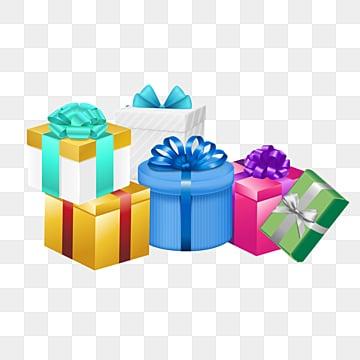 IL regalo di compleanno di Moda, Il Nastro, La Moda, Il Gradiente PNG e PSD