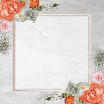 floral frame card, Rose, Frame, Blooming PNG and PSD