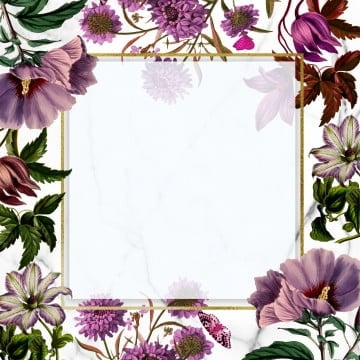 floral frame design, Frame, Rose, Blooming PNG and PSD