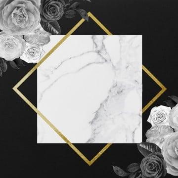 golden floral frame, Frame, Goldenframe, Floral Frame PNG and PSD
