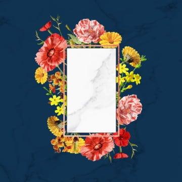 floral frame, Floral Frame, Vintage, ROSE PNG and PSD