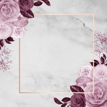 modern floral frame design, Frame, Rose, Frame PNG and PSD