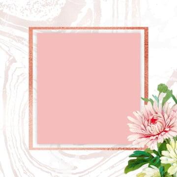 pink floral frame, Foral Frame, ROSE, FRAME PNG and PSD