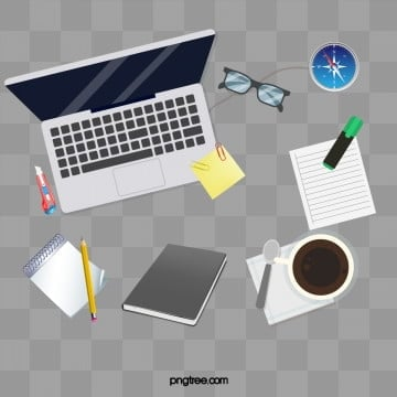 Simple atmospheric programmer desktop, Working, Coffee, Magnificent PNG and PSD