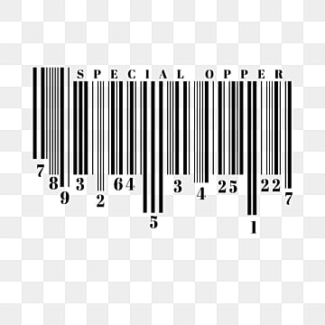 simple permutation bar code, Creative, Scanning, Array PNG and PSD
