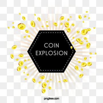 splash elements of hand painted gold coins, Element, Spatter, Hand Painted PNG and PSD