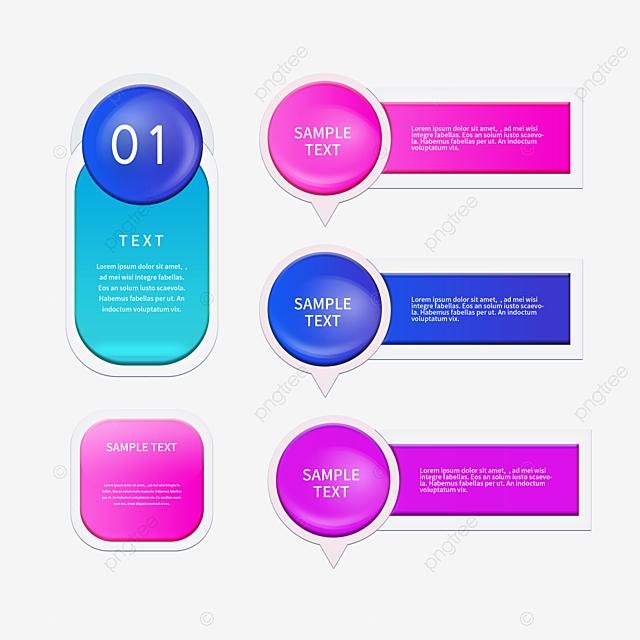 Element Group Diagram Of Simple Color Transparent Texture
