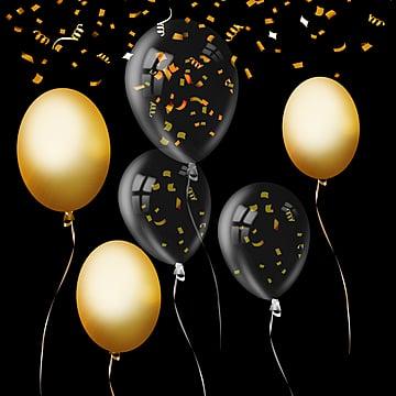 Festa di Colore Avanzi di consistenza palloncino, Luster, La Geometria, Briciole Di Colore PNG e PSD