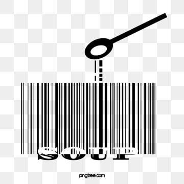 black and white barcode elements, Element, Bar Code, Soup PNG and PSD