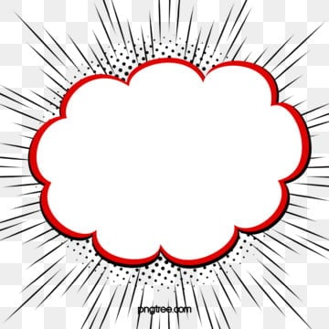 cartoon wind explosion box elements, Flaky Clouds, Element, Cartoon PNG and PSD