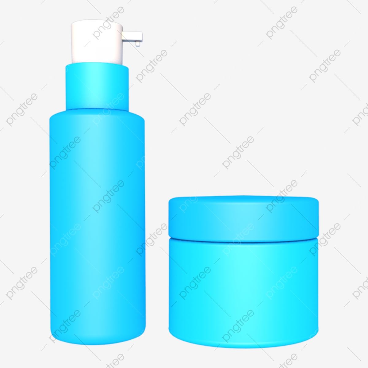 C4d Stereo Blue Cosmetic Model, C4d, Blue Cosmetics, Cosmetic PNG