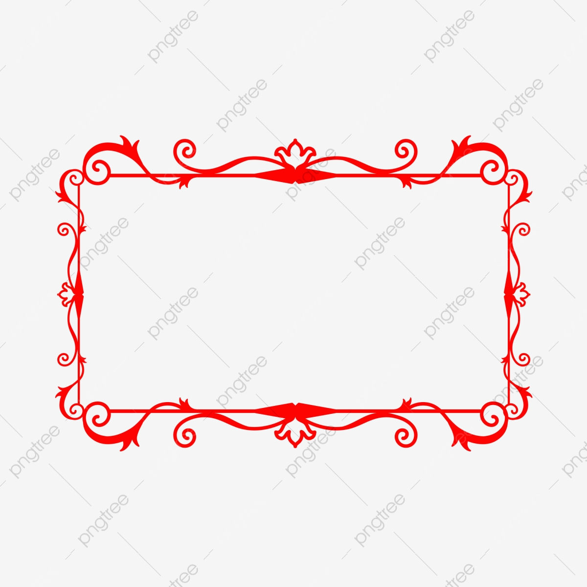 النمط الصيني الحدود تصميم مربع أحمر الملمس أحمر إطار النمط الصيني Png وملف Psd للتحميل مجانا
