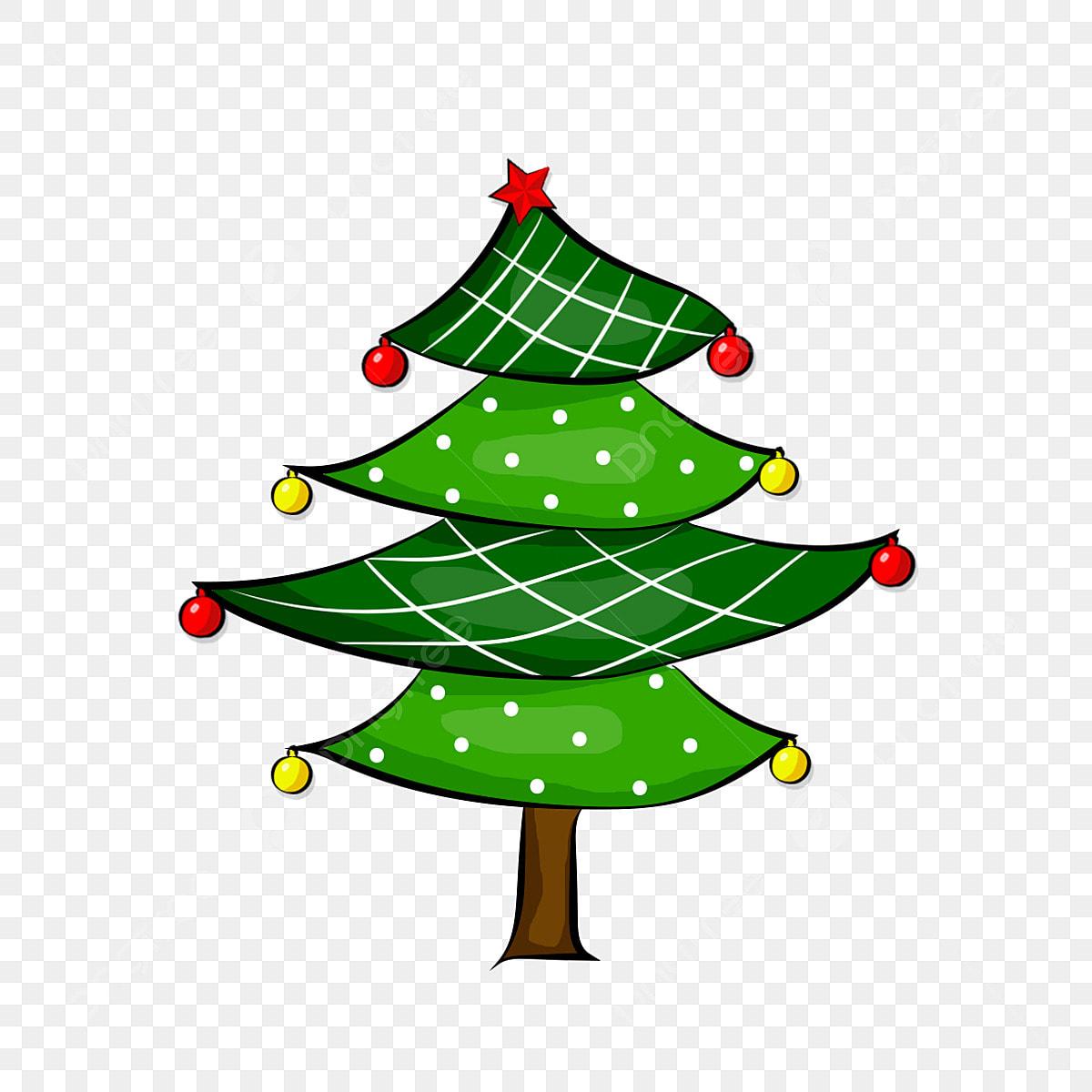 Elementos De Decoração Da árvore Natal Natal árvore De