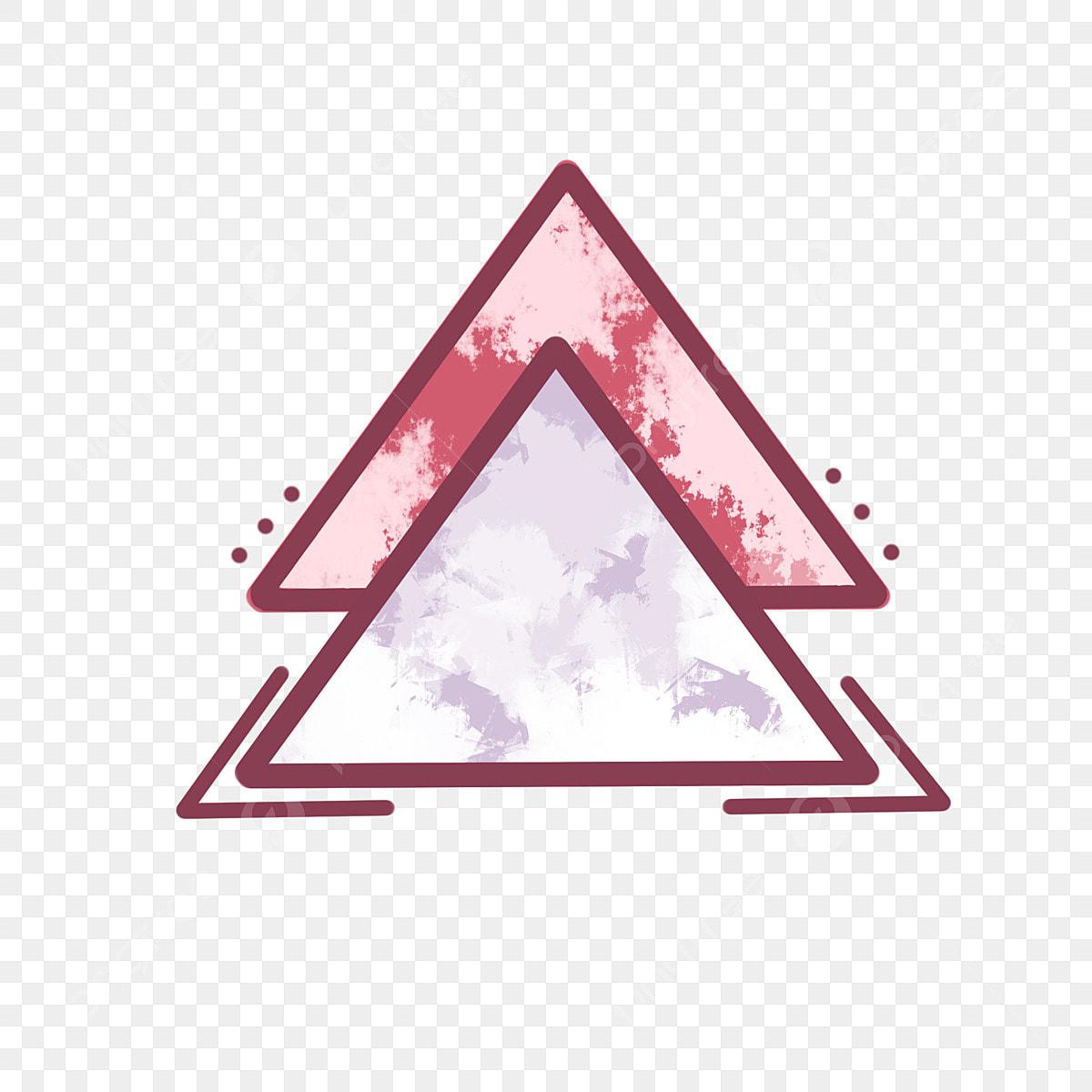 Fantasy Triangle Decorative Pattern Design Element Hand