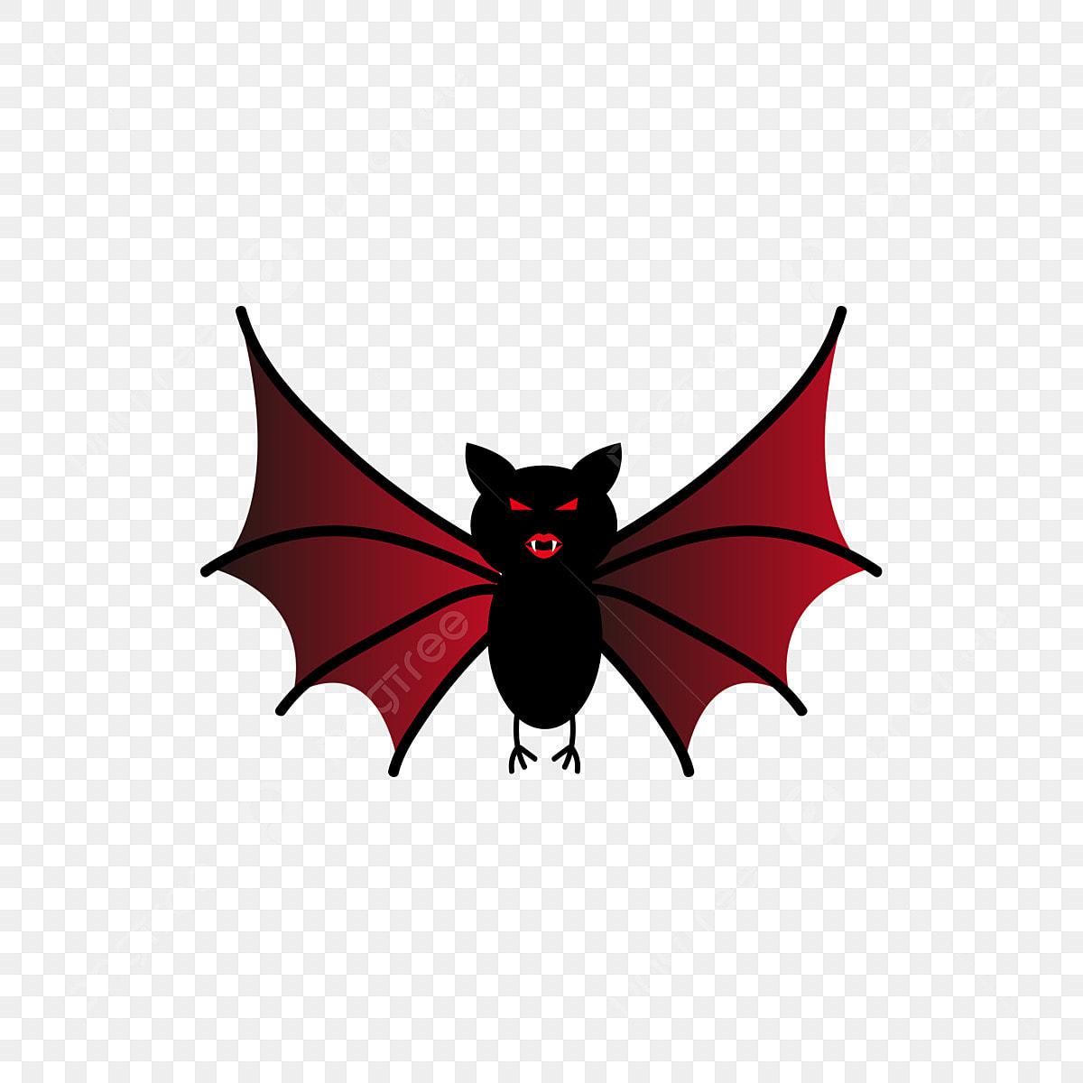 Halloween Horror Blood Red Bats Commercial Elements, Bat
