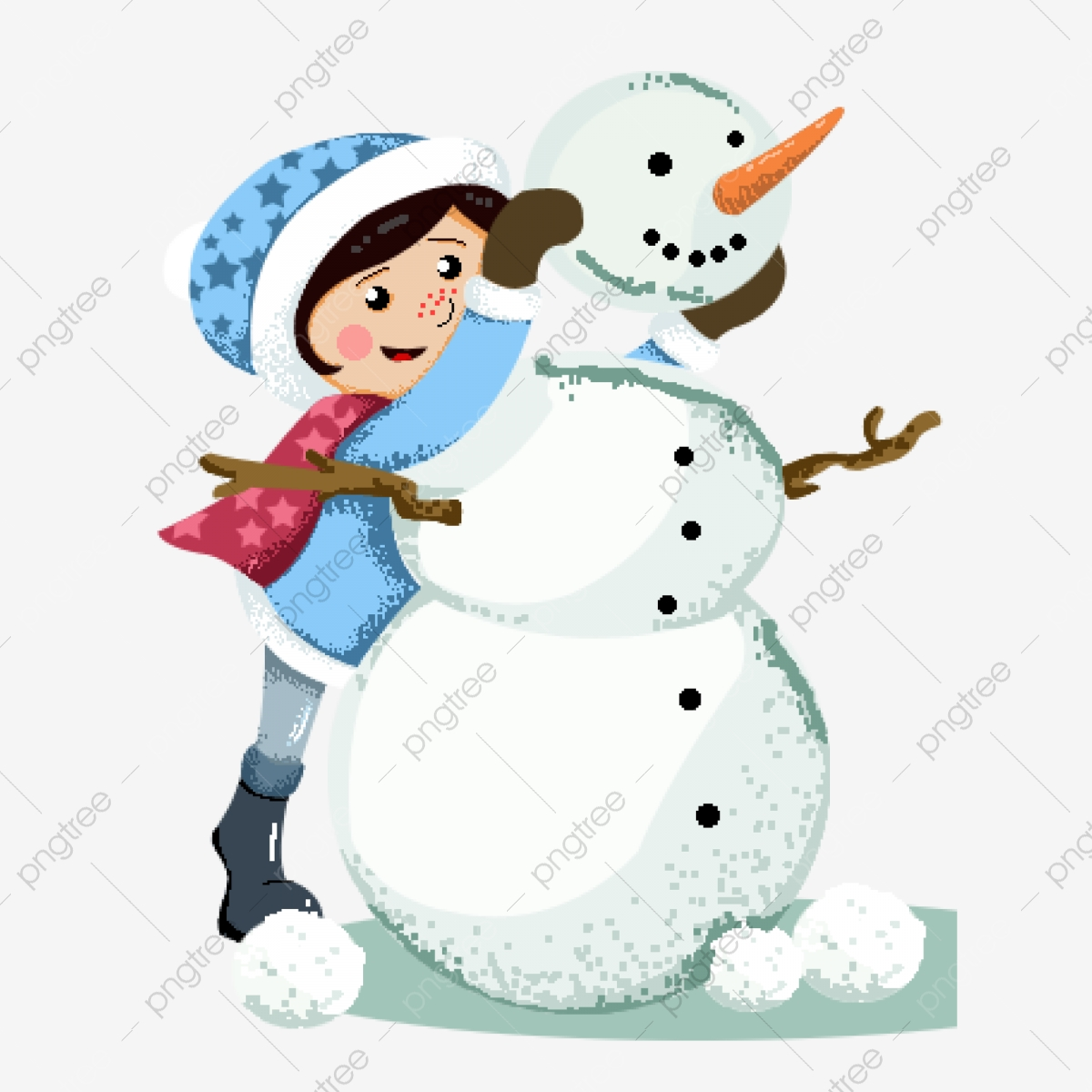 Elementos De Muñeco Nieve Niño Dibujados A Mano Muñeco De Nieve Dibujos Animados Niño Png Y Psd Para Descargar Gratis Pngtree
