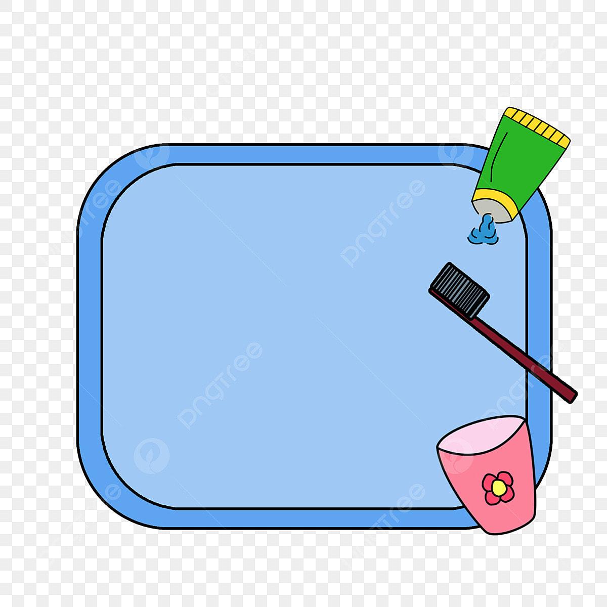 Caixa De Artigos Higiene Pessoal Bonito Dos Desenhos Animados