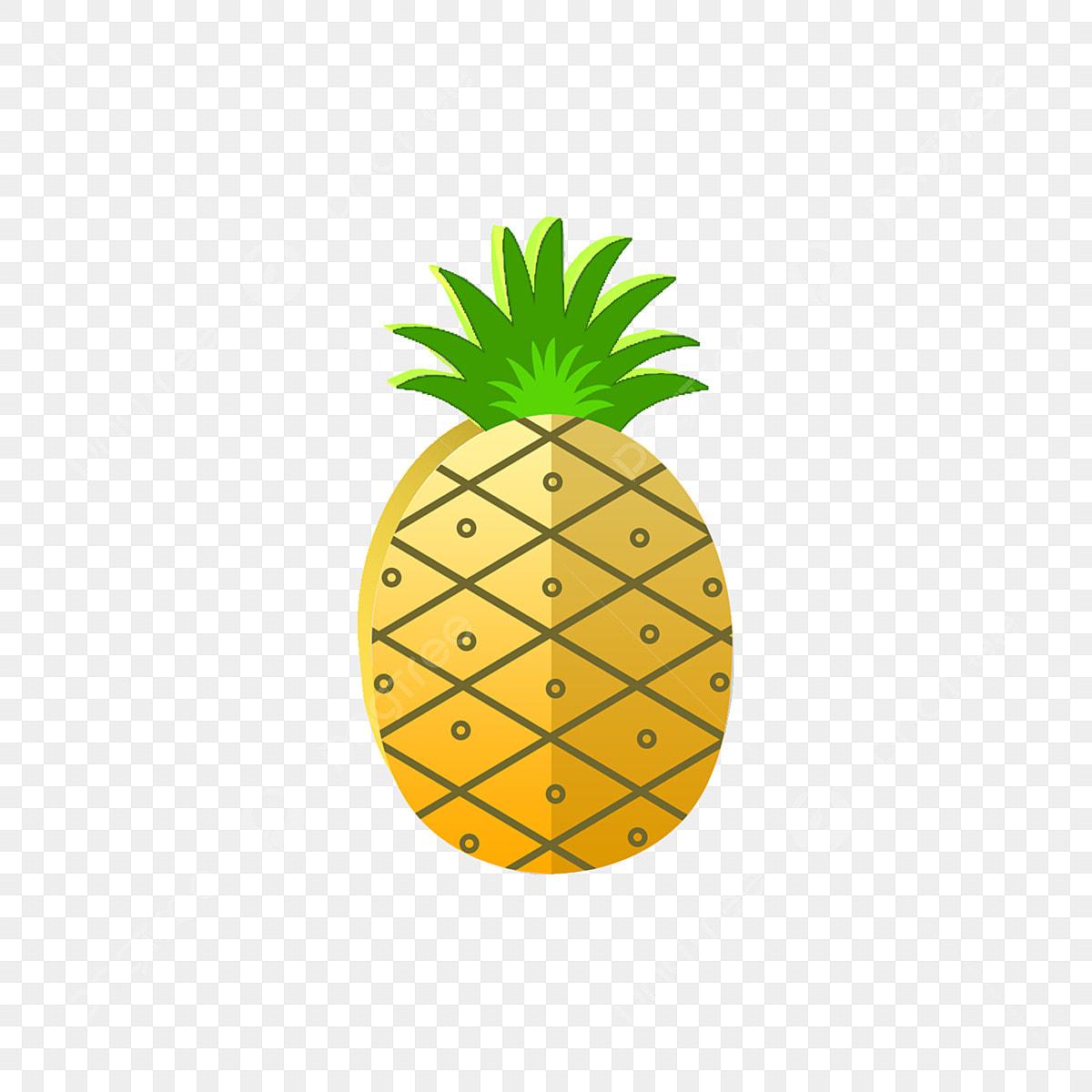 Dessin 3d Vent Simple Ananas Décoration De Plante Fruits