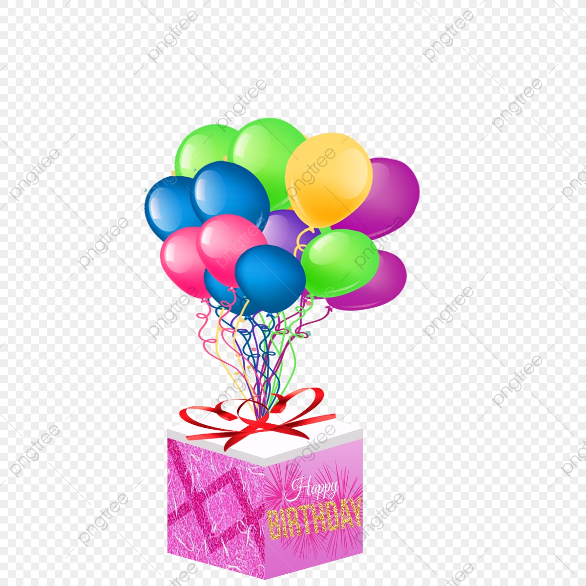 Birthday Gift Box Box Gift Png Transparent Clipart Image And Psd