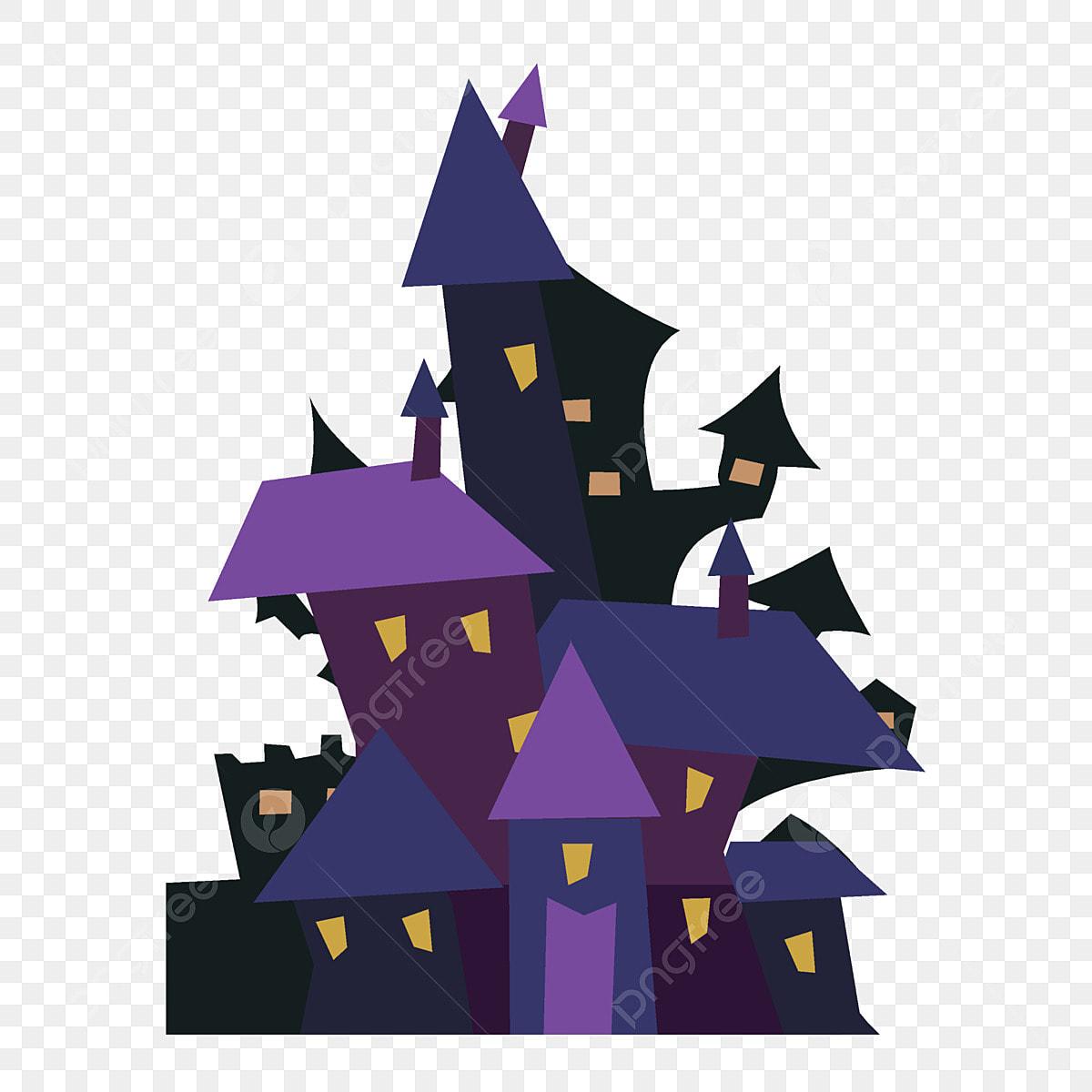 директор замок фиолетовой колдуньи рисунок холсте это