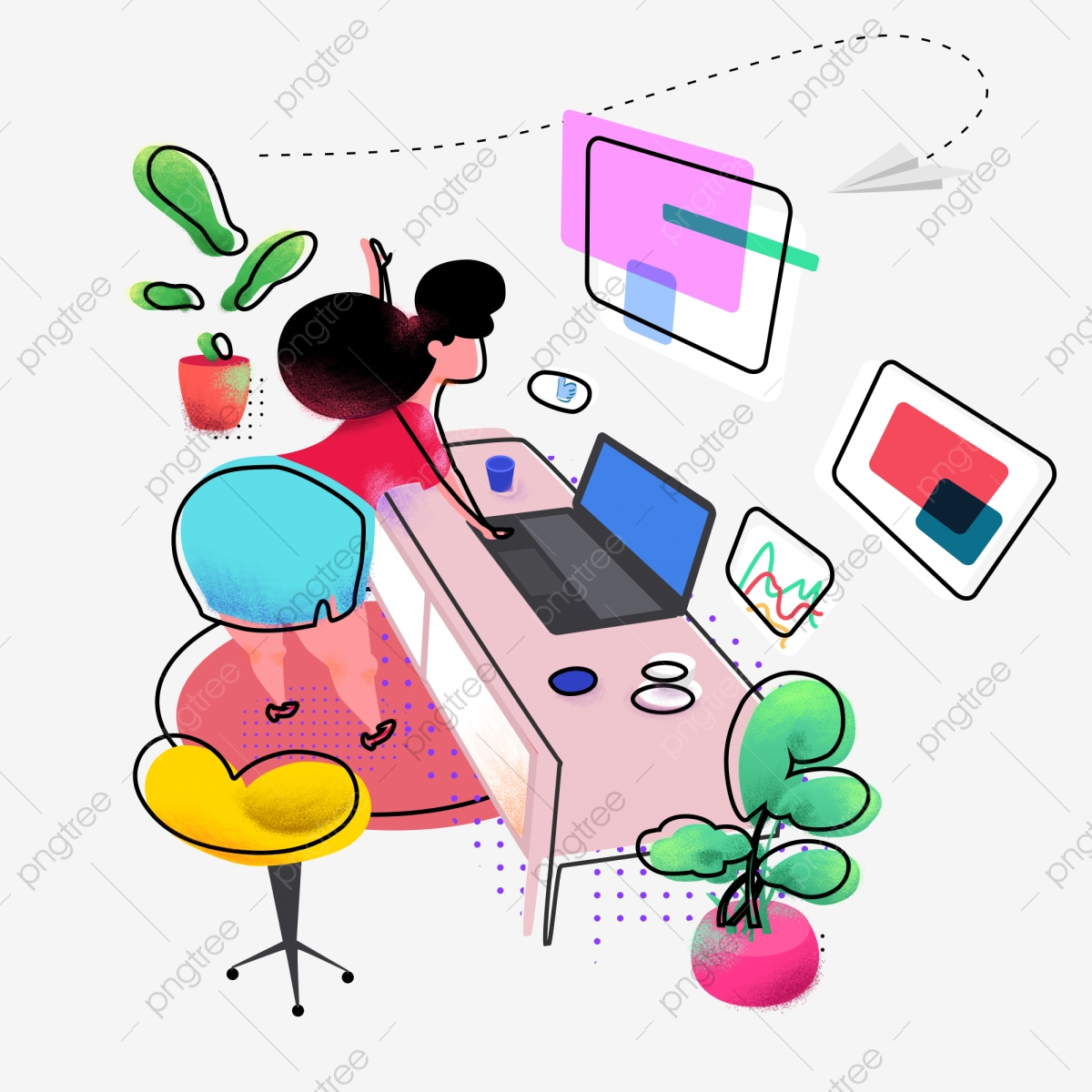 Free Office Background Cliparts, Download Free Clip Art, Free Clip Art on  Clipart Library