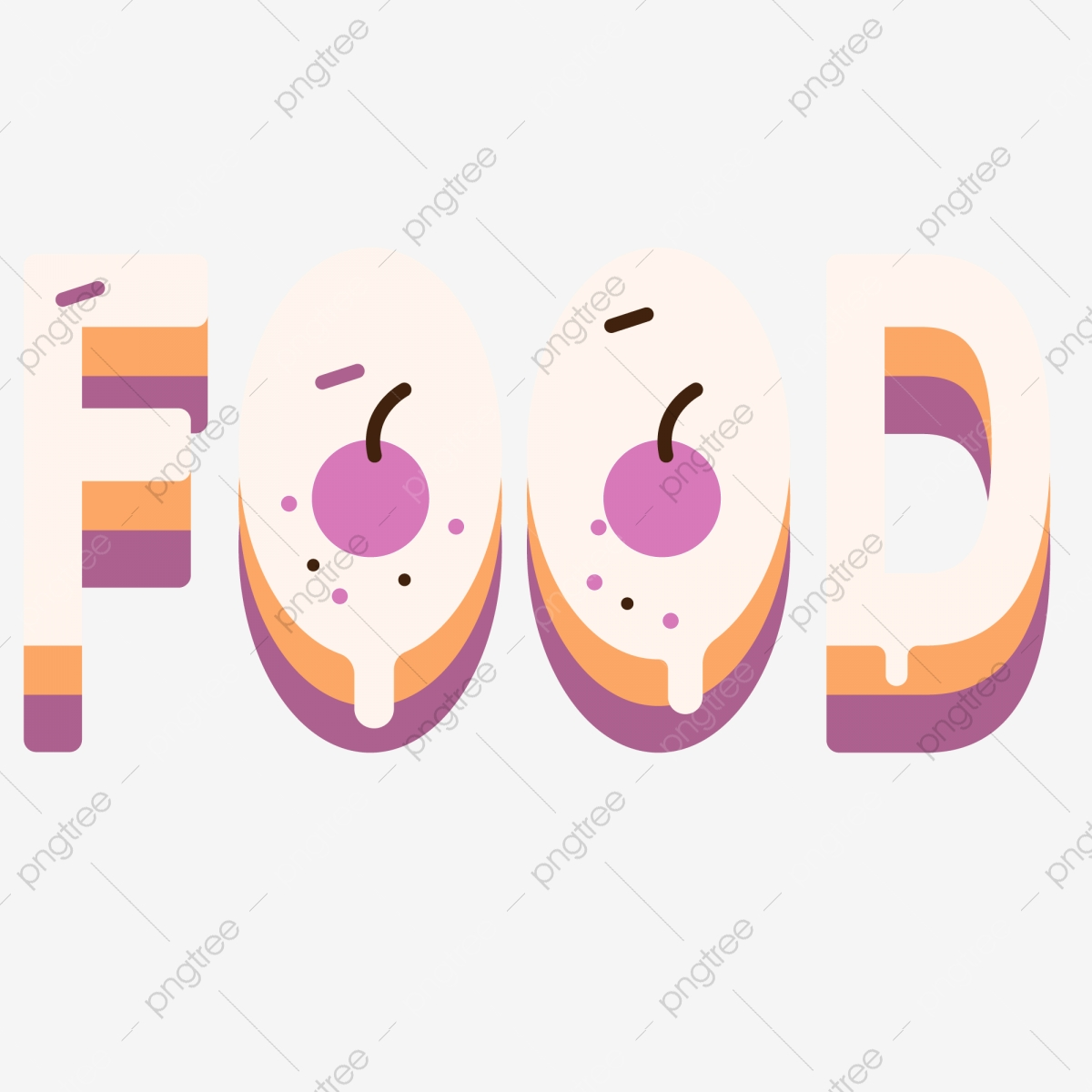 Ilustrasi Makanan Lucu Kartun Kartun Comel Makanan Makanan Png