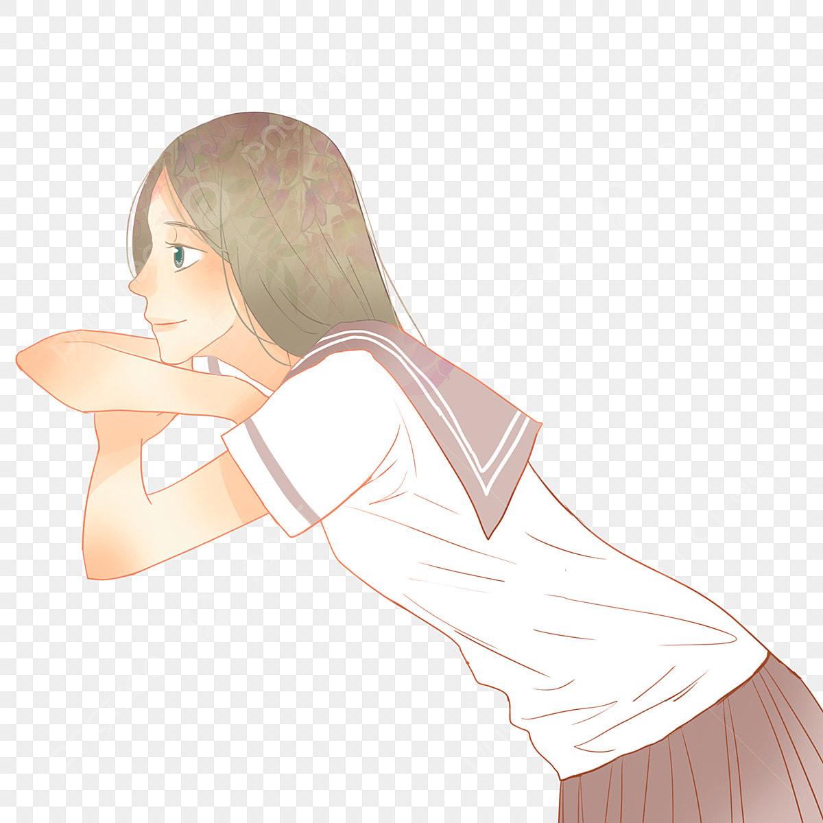 Uniforme Escolar Dos Desenhos Animados Aluna Design De Personagens