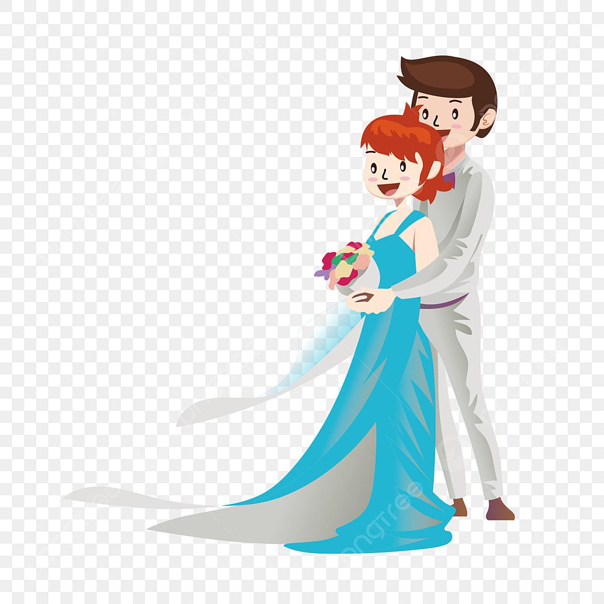 Reka Bentuk Foto Perkahwinan Kartun Kartun Pengantin Lelaki