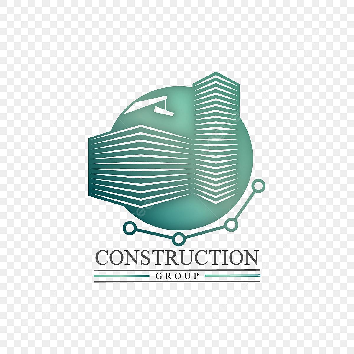 Gambar Pembinaan Bangunan Syarikat Pencakar Langit Crane Perniagaan Logo Biru Bangunan Bangunan Grafik Png Dan Vektor Untuk Muat Turun Percuma