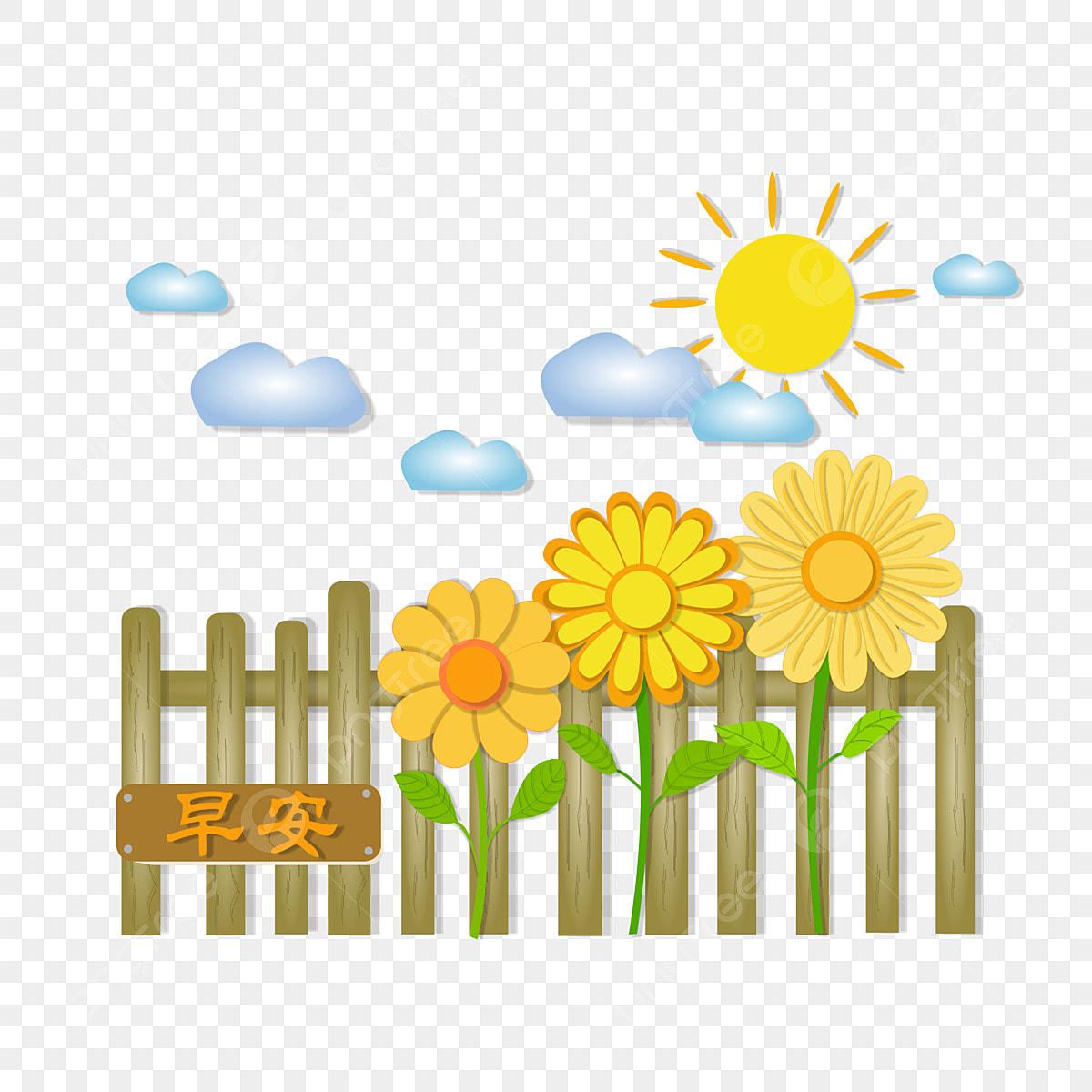 Menyembuhkan Siri Awal Unsur Unsur Bunga Matahari Kartun