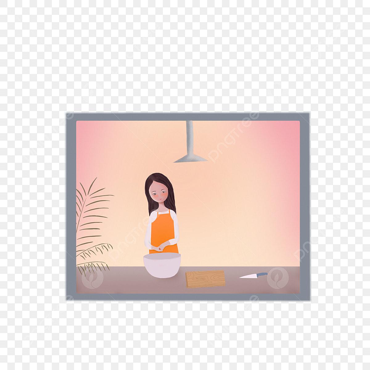Gambar Reka Bentuk Unsur Untuk Ibu Memasak Di Tingkap Dapur Tetingkap Memasak Png Dan Clipart Untuk Muat Turun Percuma
