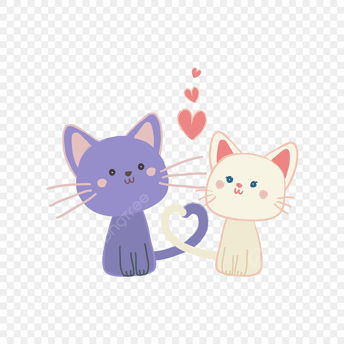 600+ Gambar Binatang Kartun Kucing Gratis Terbaru