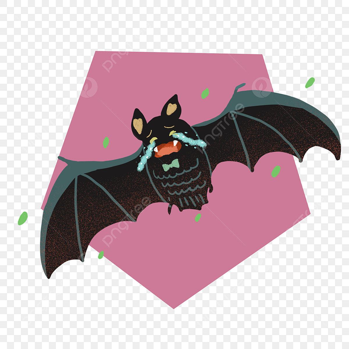 Hand Drawn Cartoon Cute Halloween Bat Account Commercial