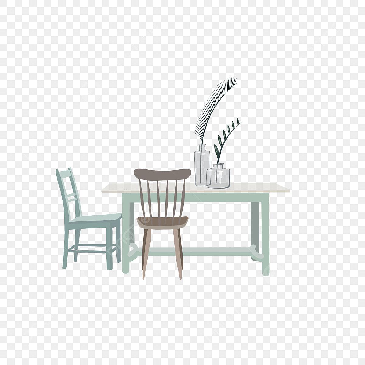 Combinazione Di Tavolini E Sedie Letterarie Dipinti A Mano Disegnato A Mano La Letteratura E Larte Tavolo E Sedia Immagine Png E Clipart Per Il Download Gratuito