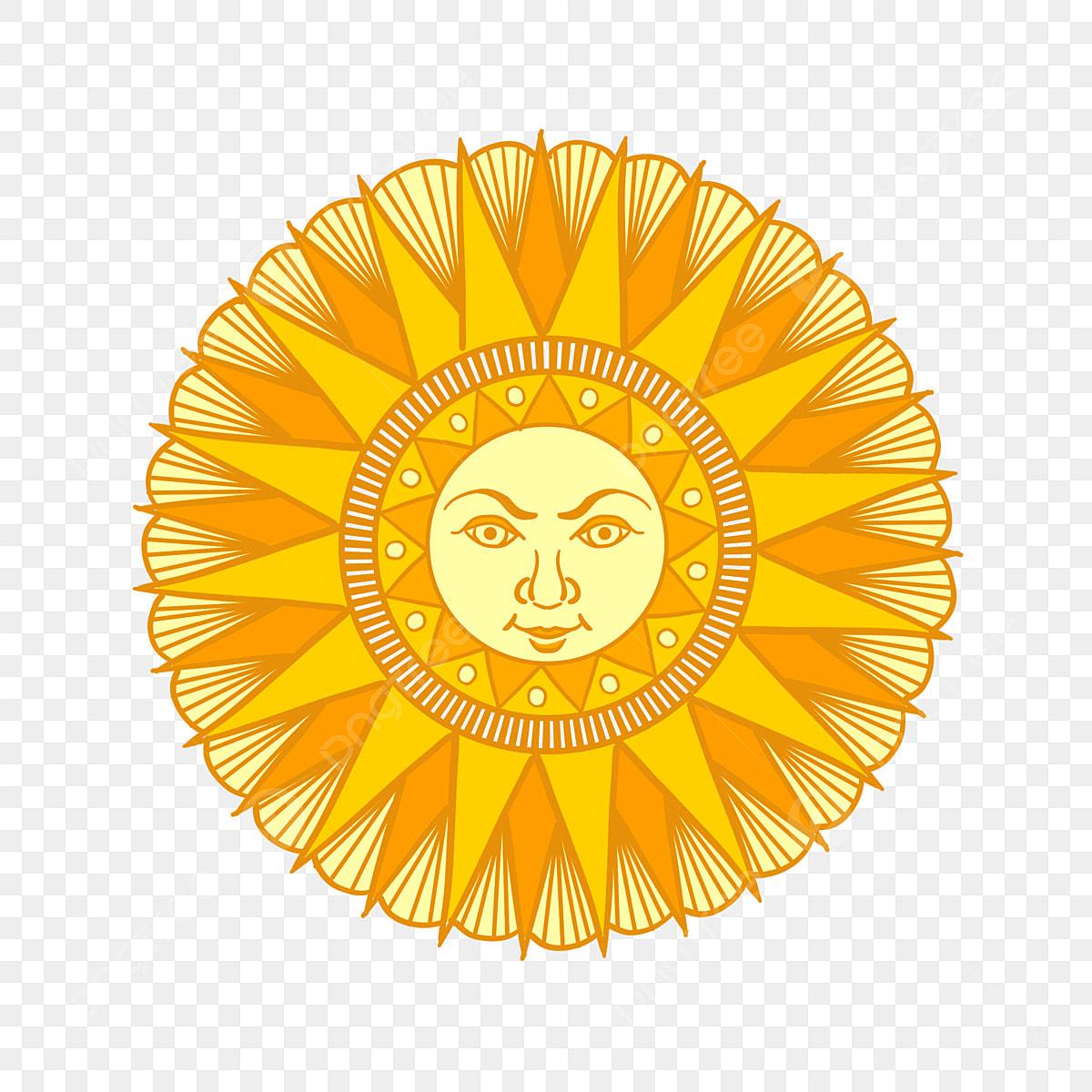 Sun Clip Art of Shining
