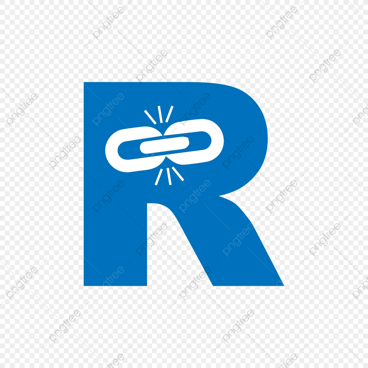 Link R Letter, R Letter, Link R, Link PNG and Vector with