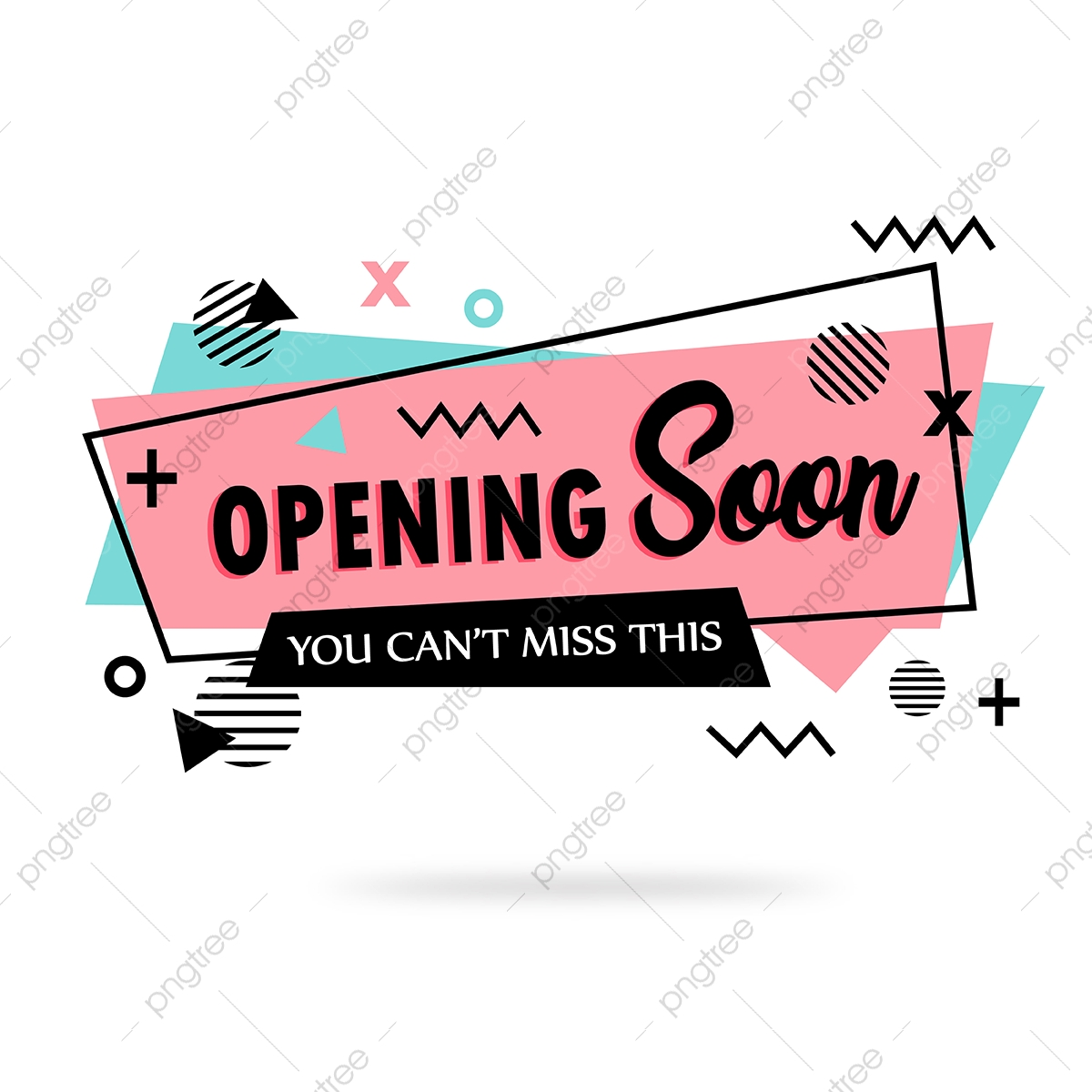 Opening Soon Banner Background Backdrop Banner Png And Vector With Transparent Background For Free Download
